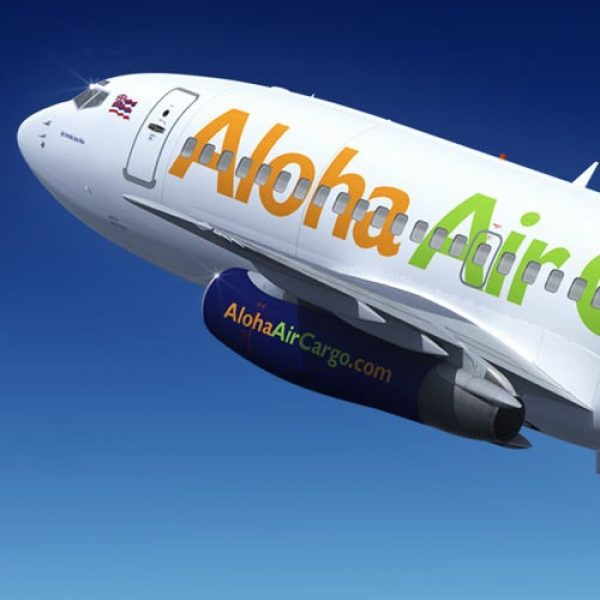 Livery design for Aloha Air Cargo