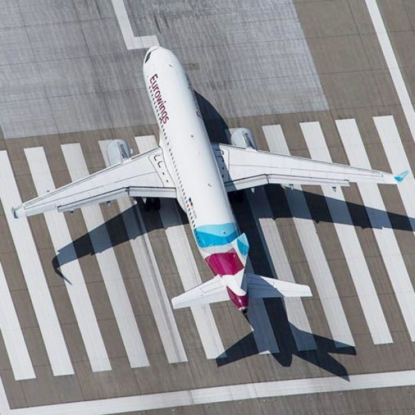 Aircraft livery design for Eurowings