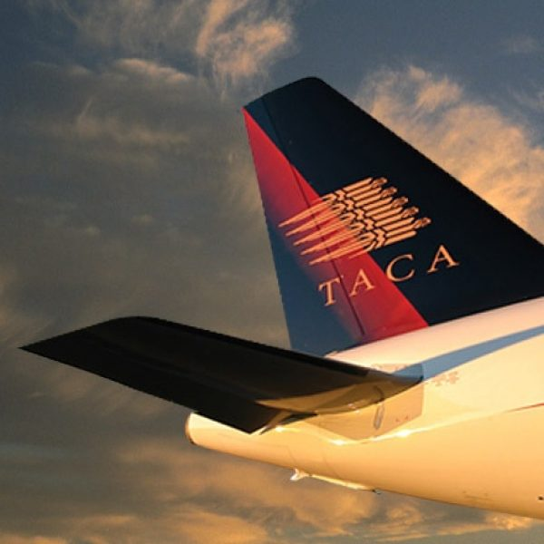 Aircraft livery design for Grupo TACA