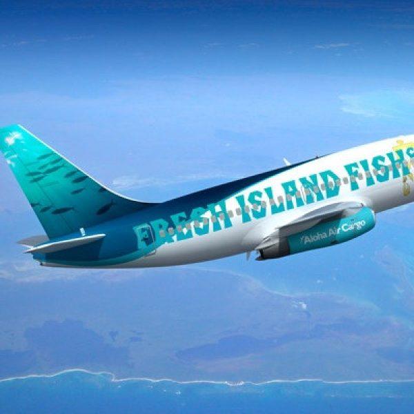 Special co-op marketing livery designs for Aloha Air Cargo