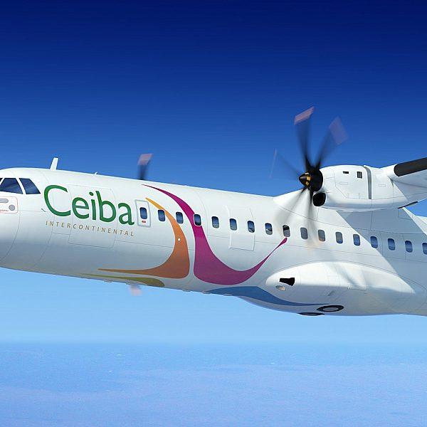 Aircraft livery design for Ceiba Intercontinental