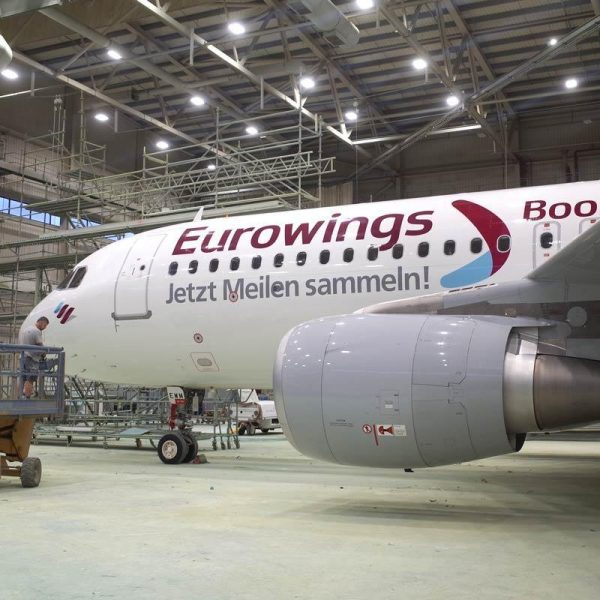 Special livery design for Eurowings 'Boomerang Club'