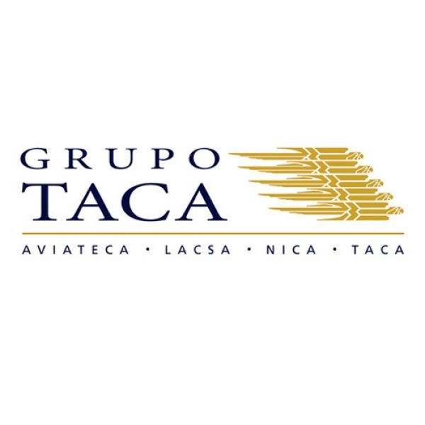Brand identity design for Grupo TACA