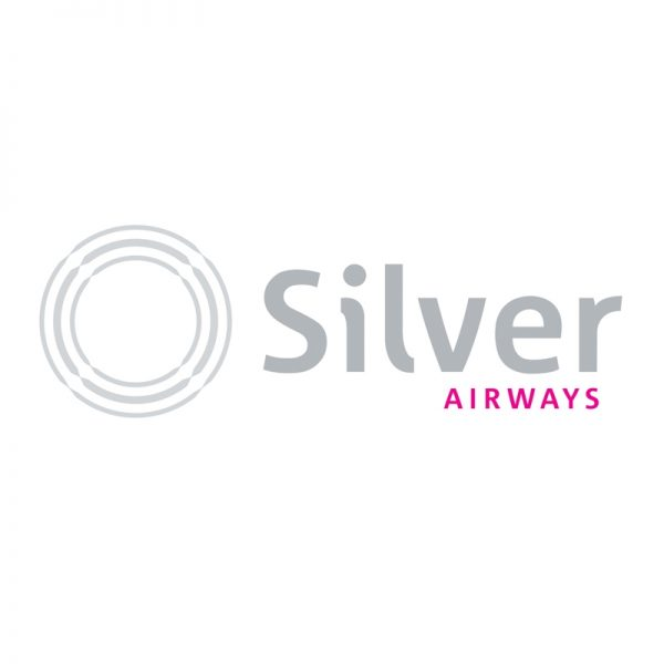 Brand identity design for Silver Airways